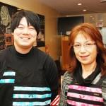 広報の安栖さんと店長の豊岡さん(左から) 【写真をクリックで拡大】