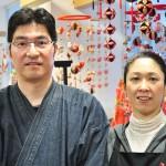 店主の北村孝さん(左)と香奈子さん 【写真をクリックで拡大】