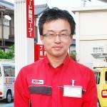 「不快感なく給油してもらえるSSを目指しています」とマネージャーの福田智明さん 【写真をクリックで拡大】