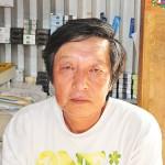 店主の柴田繁さん 【写真をクリックで拡大】