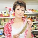 店主の森宏子さん 【写真をクリックで拡大】